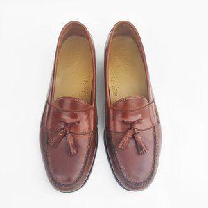 COLE HAAN Loafer Brown leather Tassel 11.5M Mens